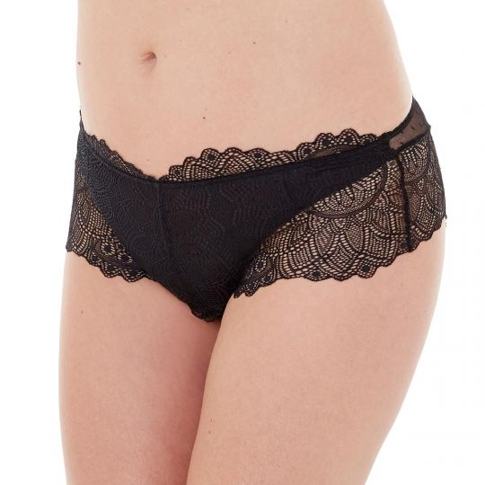 Shorty noir Insolente - vue 1