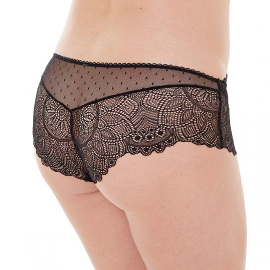 Shorty noir Insolente - vue 2