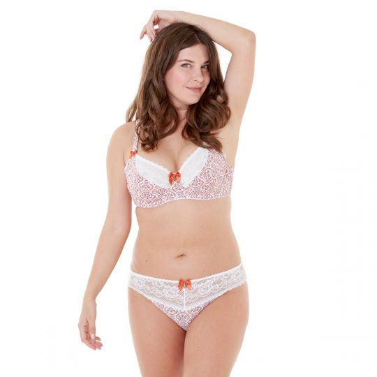 Culotte ivoire/orange Infini