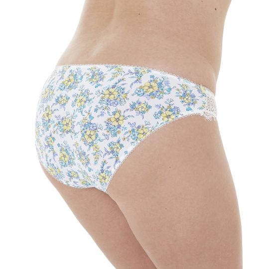 Culotte ivoire/turquoise Sweet Heart