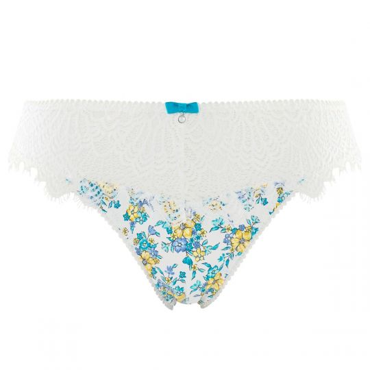 Culotte ivoire/turquoise Sweet Heart - vue 0