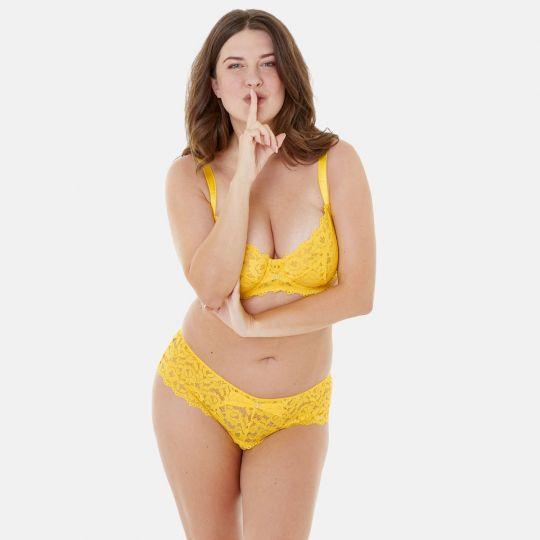 Soutien-gorge grand maintien bonnets C à F jaune Paradoxe - vue 5