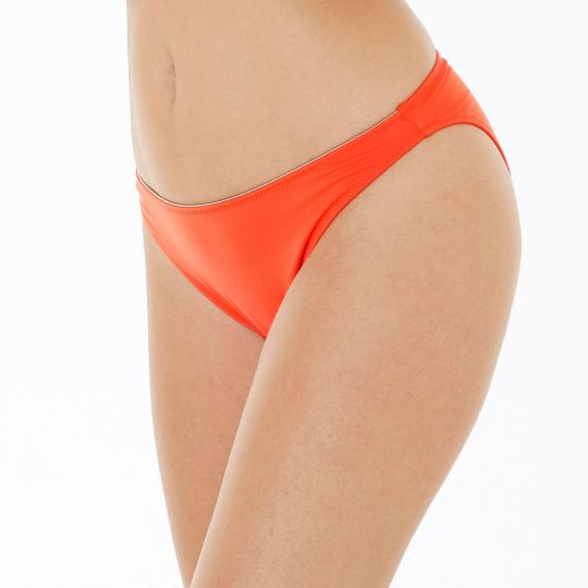 Slip de bain orange Riviera - vue 1