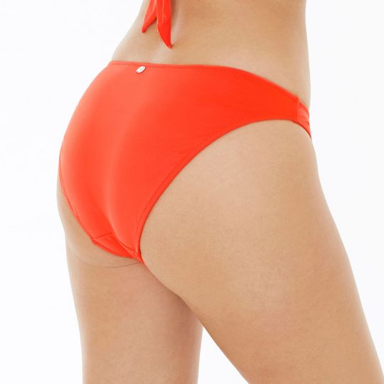 Slip de bain orange Riviera - vue 2