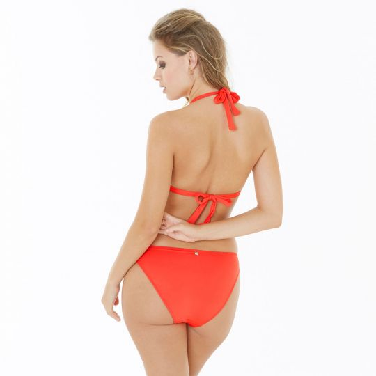 Slip de bain orange Riviera - vue 4
