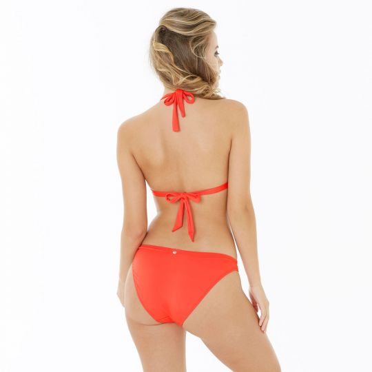 Haut de maillot triangle orange Riviera