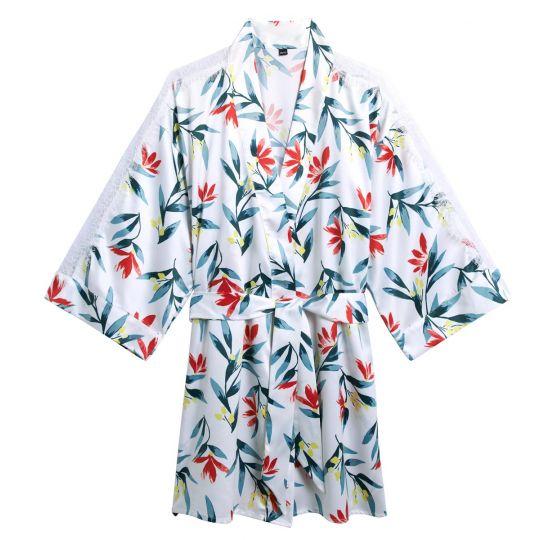 Kimono imprimé Etourdie - vue 0