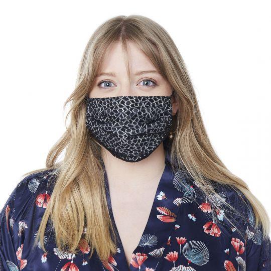 Masque en dentelle française FANTOMETTE - vue 1