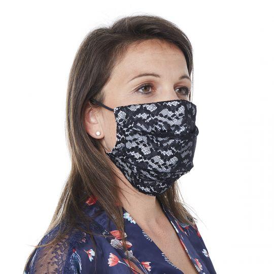 Masque en dentelle française ARLEQUIN