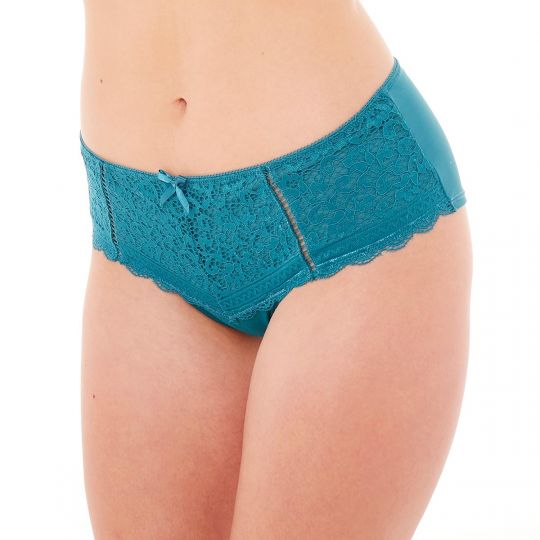 Shorty turquoise Elena - vue 1