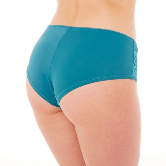 Shorty turquoise Elena - vue 2