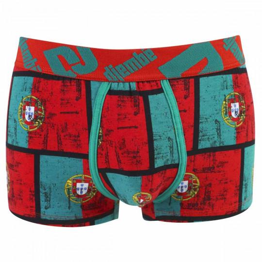 Boxer Boy imprimé drapeau Portugal by Djembé
