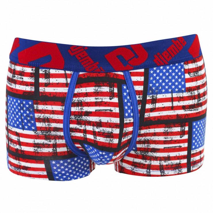 Boxer Boy imprimé drapeau Etats-Unis by Djembé