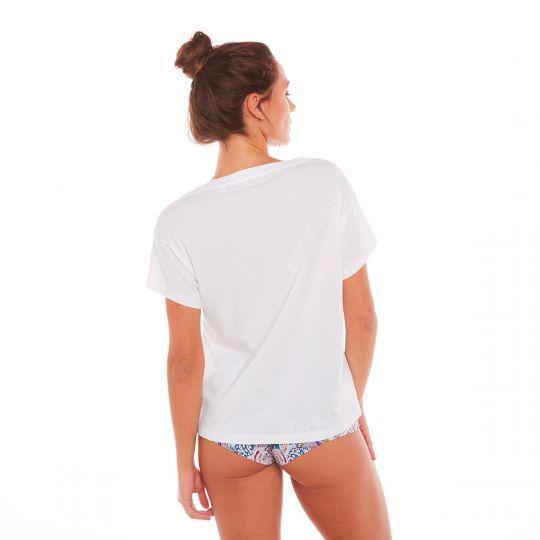 T-shirt VIVRE D'AMOUR - vue 2