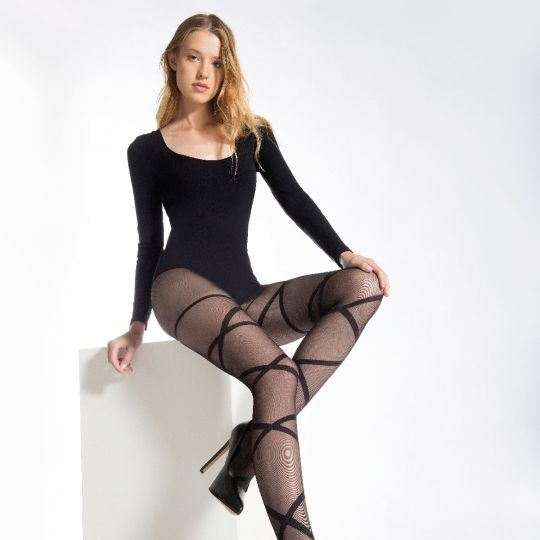 Collant noir Dalina