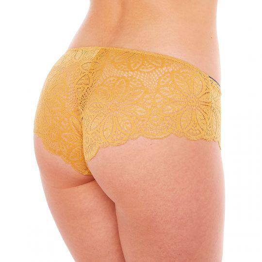 Shorty jaune Zazie - vue 2
