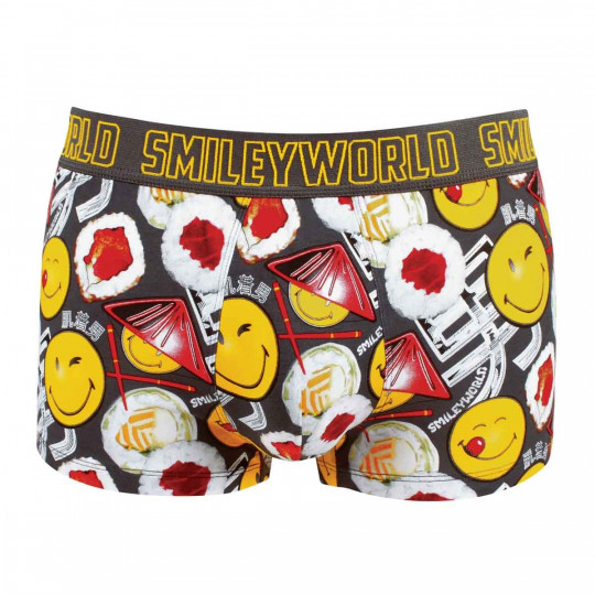 Boxer imprimé No Sushi Boy by Smiley