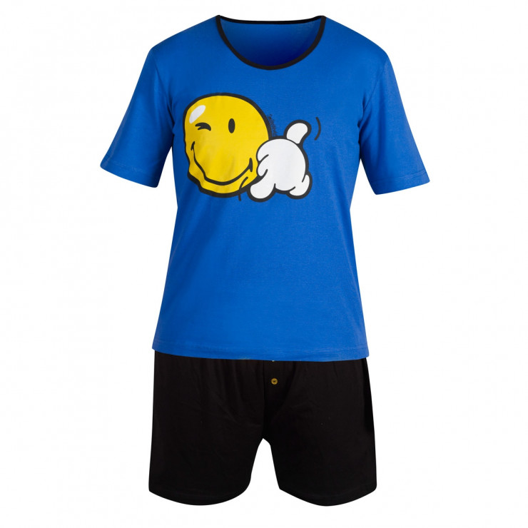 Pyjama court Blue Night by Smiley