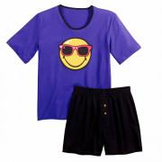 Pyjama court Purple Night by Smiley