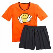 Pyjama court Orange Night by Smiley