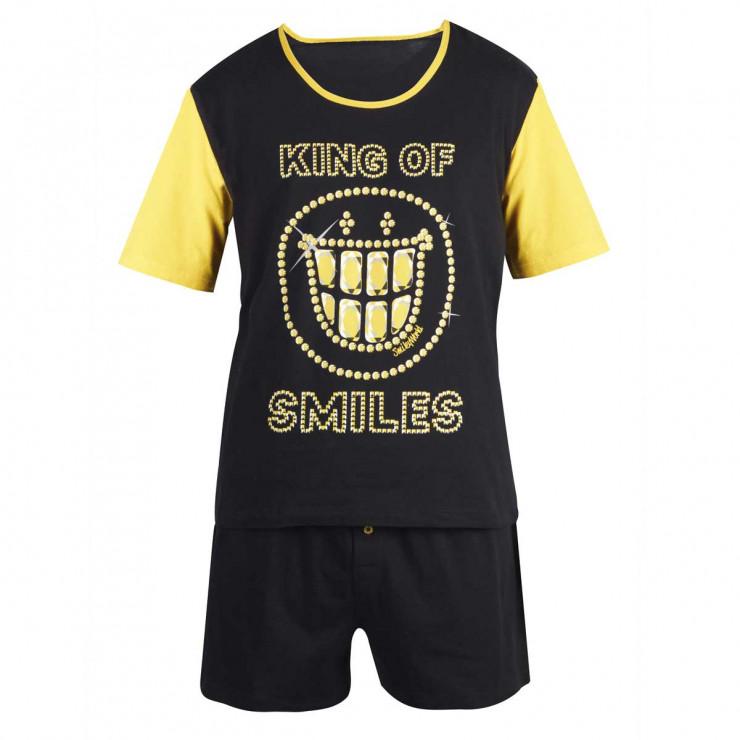 Pyjama court Bling Night by Smiley