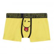 Boxer Boy imprimé Yellow by Smiley