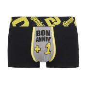 Boxer noir Bon Anniv' by Djembé