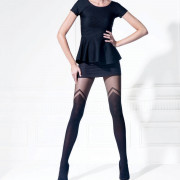 Collant fantaisie 70 deniers noir Exclusive