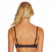 Soutien-gorge push-up bandeau noir/chair So chic