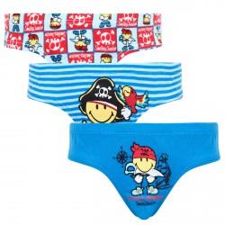 Lot de 3 slips Boy Little Pirate by Smiley
