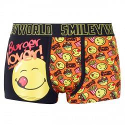 Boxer Boy imprimé Burger Lover by Smiley