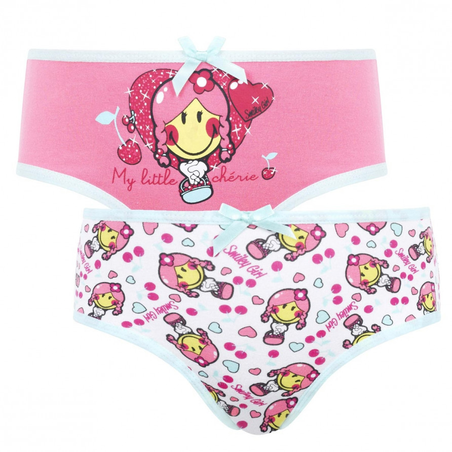 Lot de 2 boxers imprimés Cherry by Smiley