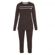 Pyjama noir/argent Party