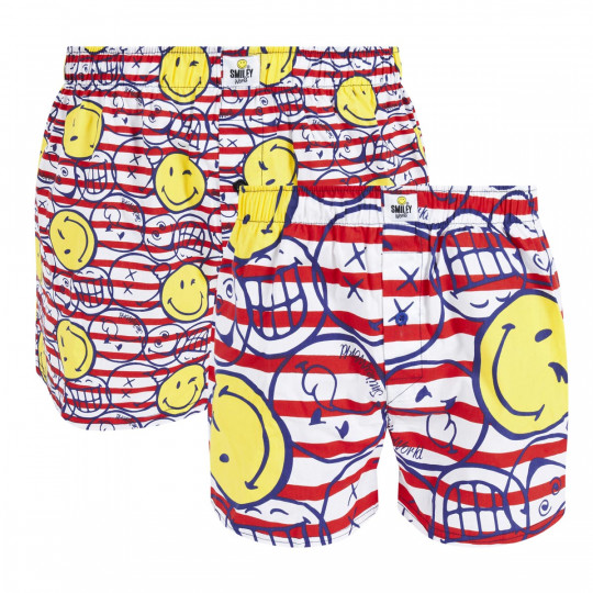 Lot de 2 boxers Marine by Smiley - vue 0