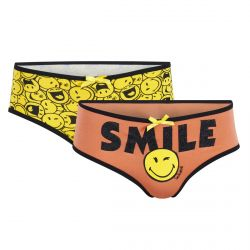 Lot de 2 boxers imprimés Smile by Smiley