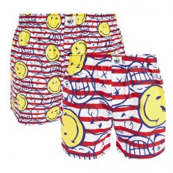 Lot de 2 boxers Marine by Smiley