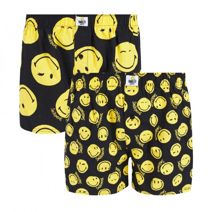 Lot de 2 boxers Spotty by Smiley