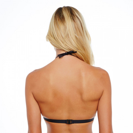 Haut de maillot triangle noir Hippies by Brigitte Bardot