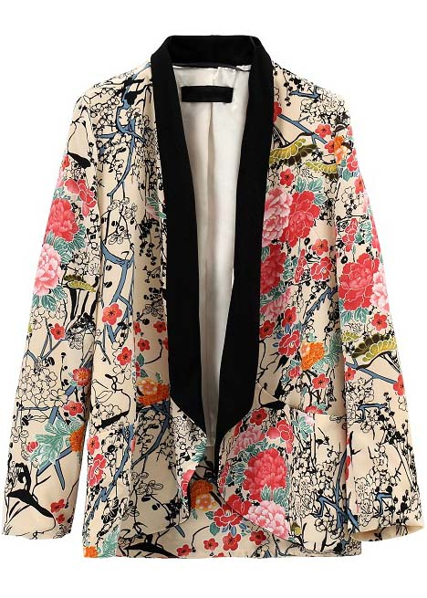 Veste fluide kimono