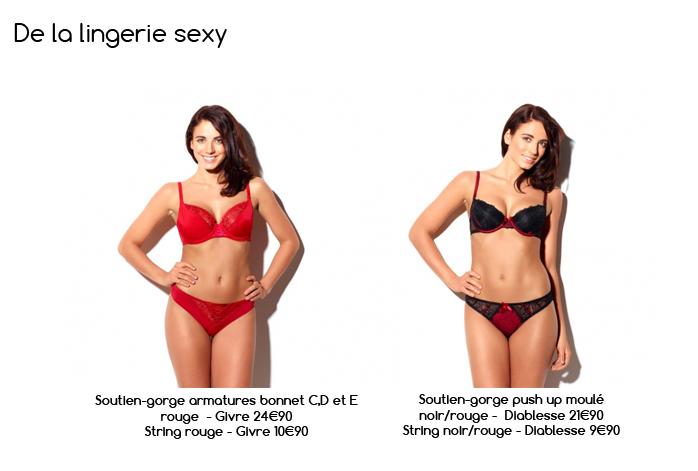 lingerie sexy pour les soldes by Pomm'Poire