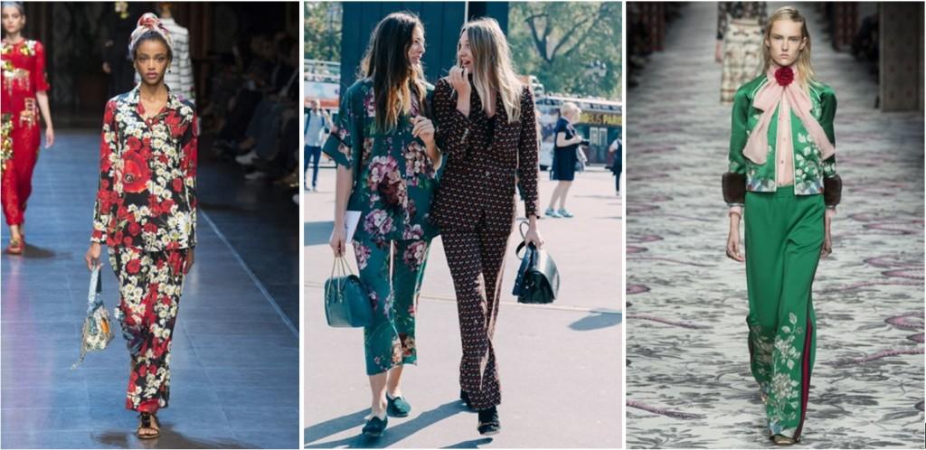 La tendance sleepwear s'invite aux défilés de la fashion week