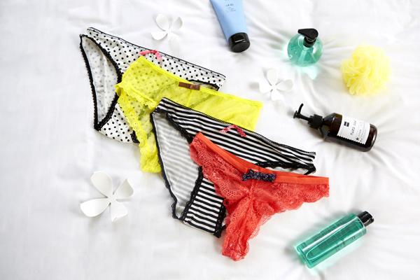 Sous-vêtements : culottes pomm'poire
