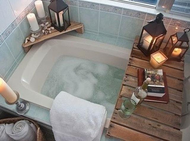 Un bon bain chaud pour cocooner