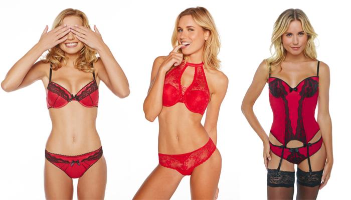 Sélection lingerie rouge sexy Pomm'Poire