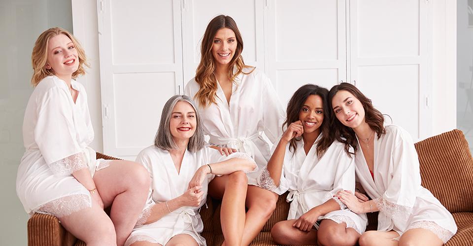La collection de lingerie Camille Cerf & Pomm'Poire