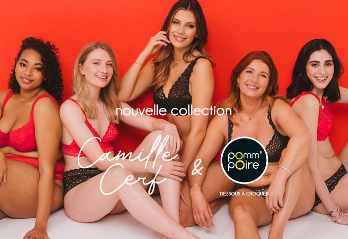 Camille Cerf & Pomm'Poire : une co-création emblématique !
