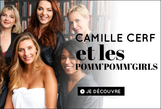 Camille Cerf et les Pomm'Pomm'Girls