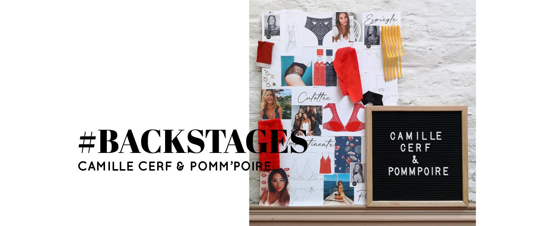 Backstages - Conception de la collection lingerie Camille Cerf & Pomm'Poire