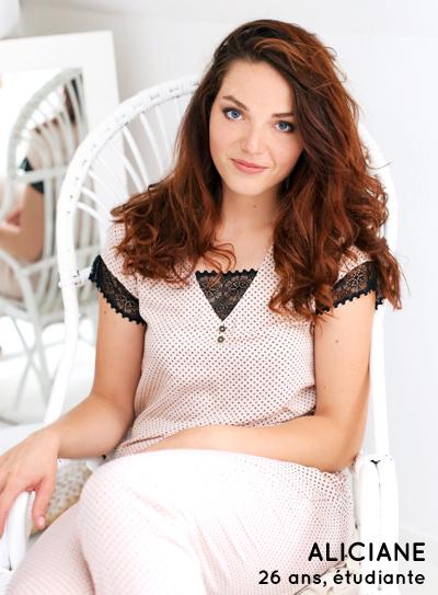 Aliciane 26 ans, étudiante