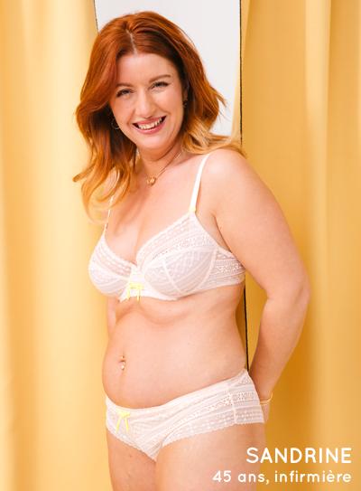 Sandrine 45 ans, infirmière